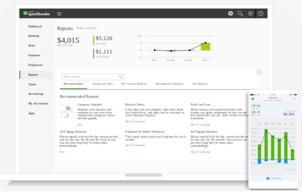 QuickBooks popularity Ecommerce Accounting